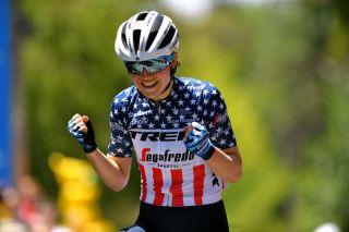 Ruth Winder won stage 3 of the Women's Tour Down Under