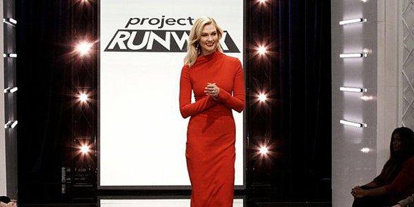 Karlie Kloss Project Runway Season 17 host Bravo