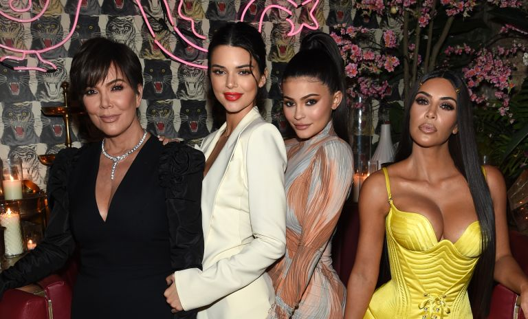 Kris Jenner, Model Kendall Jenner, Founder, Kylie Cosmetics Kylie Jenner, Founder, The Business of Fashion Imran Amed and Founder and CEO, KKW Kim Kardashian attends an intimate dinner hosted by The Business of Fashion to celebrate its latest special print edition 'The Age of Influence' at Peachy's/Chinese Tuxedo on May 8, 2018 in New York City.
