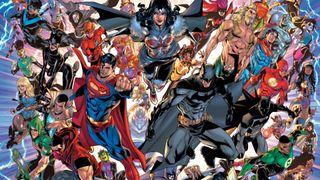 DC Infinite Frontier promo art