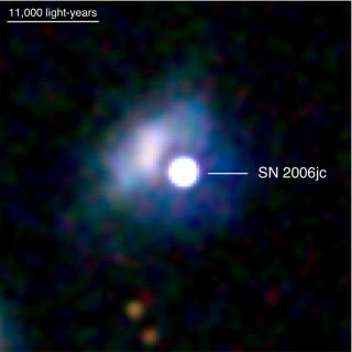 Surprising Star Explosion Upsets Theory