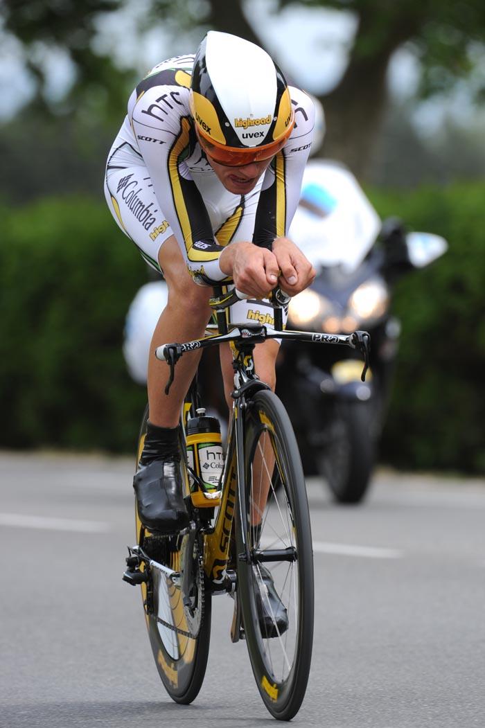 Tejay van Garderen, Criterium du Dauphine 2010, stage 3 ITT