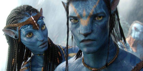 Jake and Neytiri in Avatar