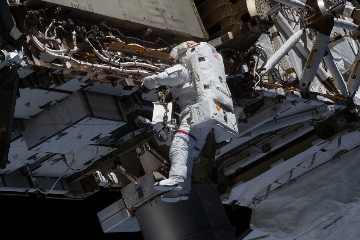 Watch live: Astronauts are spacewalking outside the International Space Station