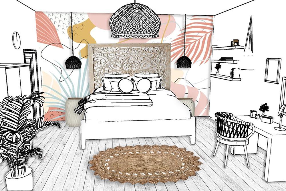 Amara-KLC-Melanie-bedroom
