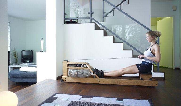 Best rowing machines: WaterRower Oxbridge lifestyle image