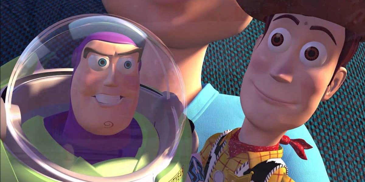 Buzz Lightyear and Woody Toy Story
