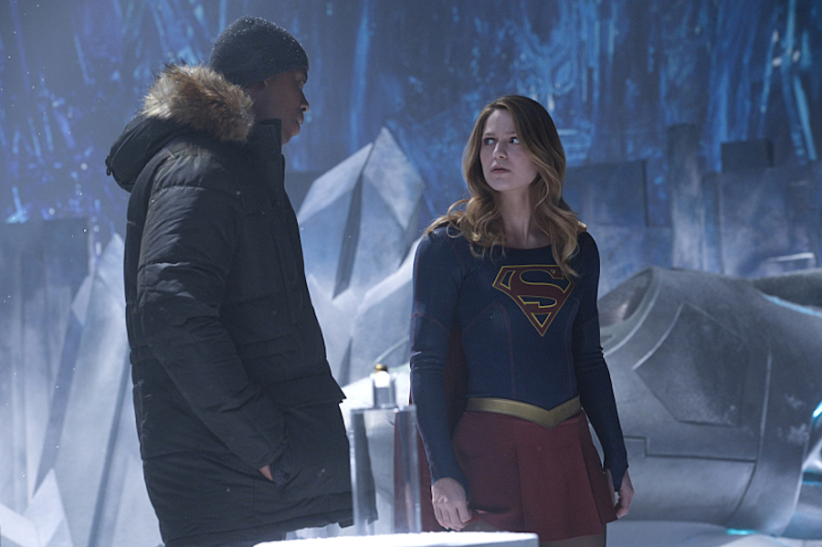 Supergirl: Check Out The First Look At The Fortress Of Solitude #35547