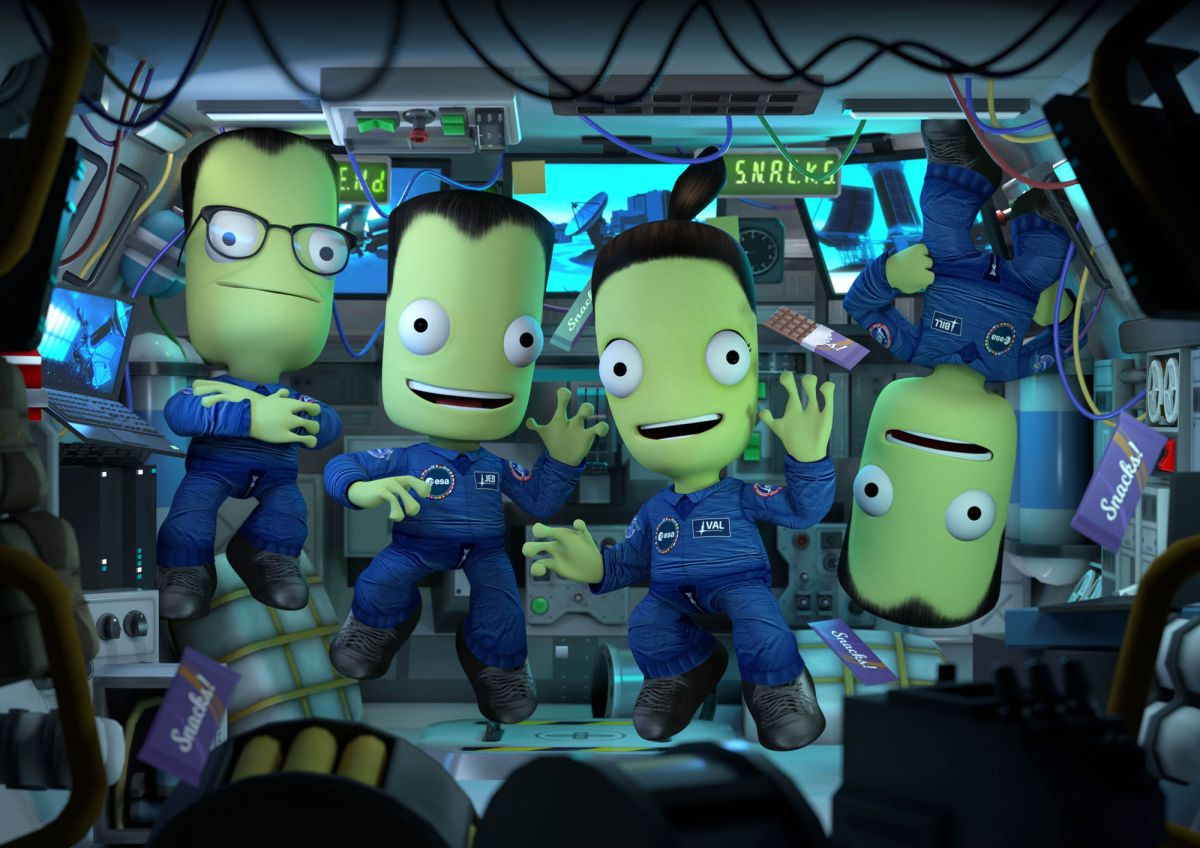 'Kerbal Space Program' launches epic European missions in 'Shared Horizons' expansion