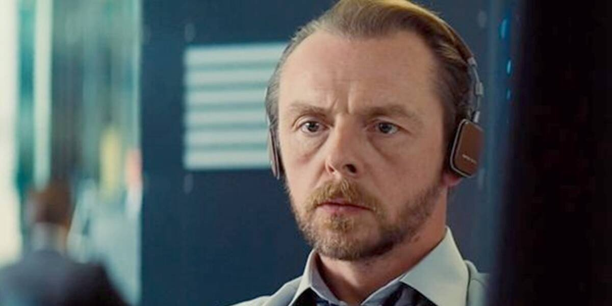 Simon Pegg as Benji in Mission: Impossible