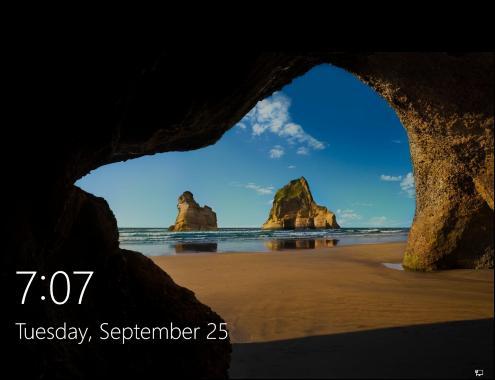 Cómo iniciar Windows 10 en modo seguro - pantalla de inicio de sesión