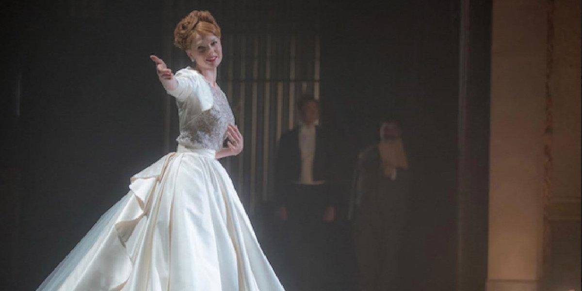 Rebecca Ferguson in The Greatest Showman.