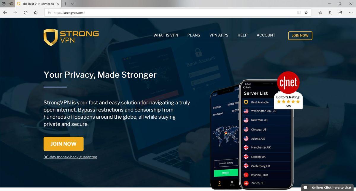 StrongVPN Review | ITProPortal