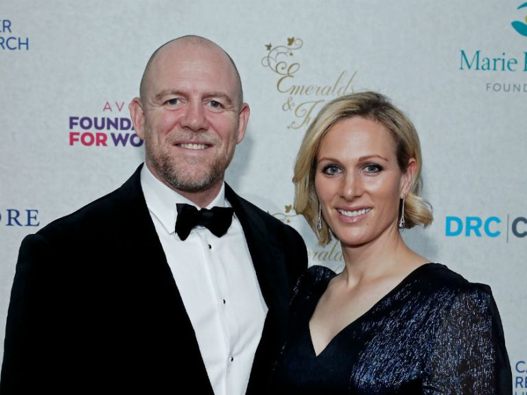 Mike Tindall Shares Sweet Holiday Snap With Wife Zara Tindall Woman Home