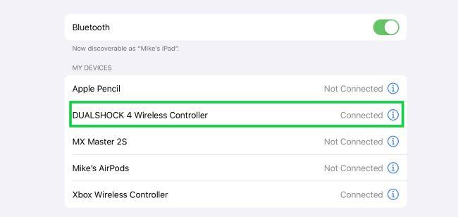 طريقة توصيل وحدة تحكم PS4 و Xbox بآيفون وآيباد 3