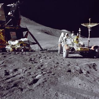 space history, moon missions, lunar lander