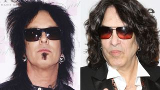 Nikki Sixx and Paul Stanley