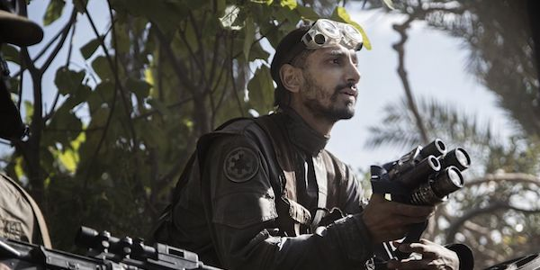Riz Ahmed as Bodhi Rook in Rogue One