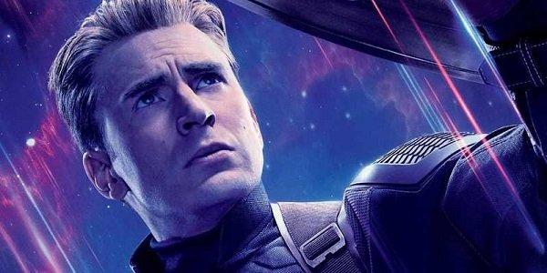 Captain America in Avengers: Endgame poster
