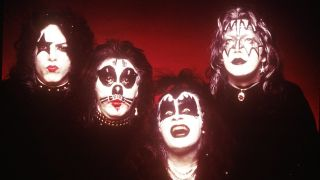 The classic 1970s Kiss line-up