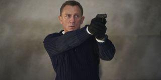 No Time To Die James Bond aiming a gun