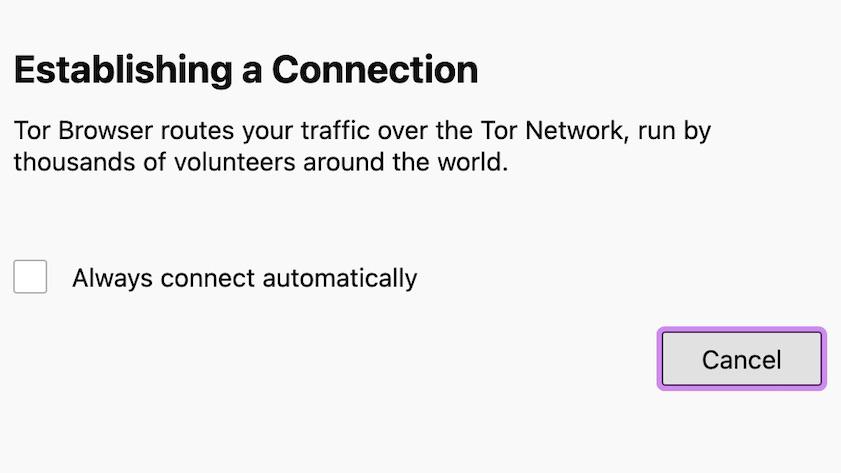 Establishing a Connection