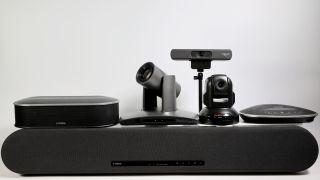 Yamaha UC and HuddleCamHD meeting room conferencing tools
