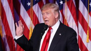Donald Trump has been elected as President of the United States of America