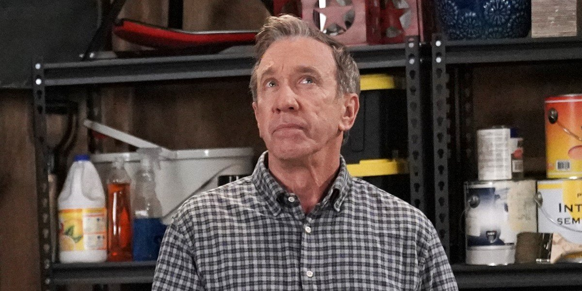 tim allen's mike baxter lost in thought on last man standing season 9