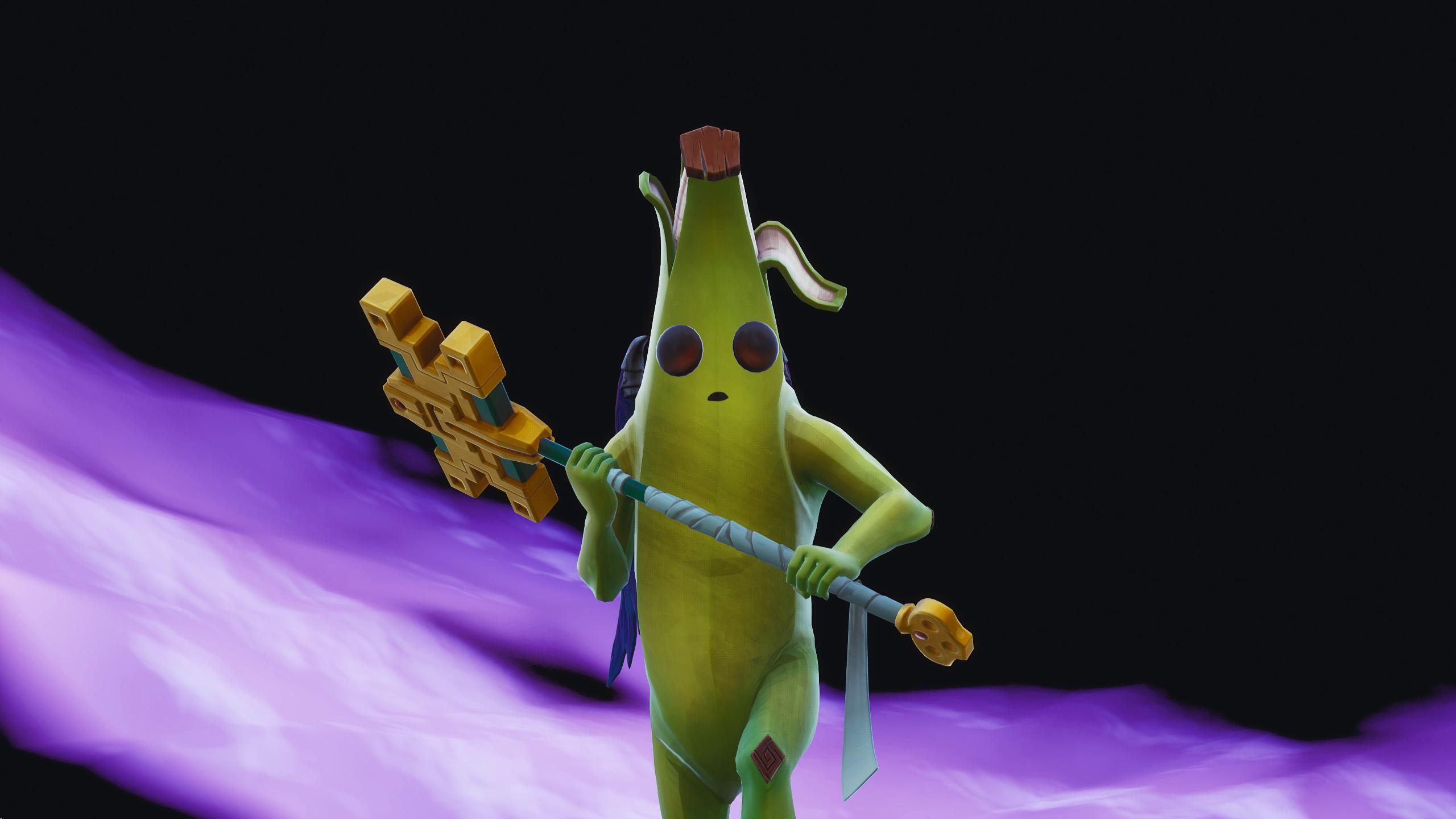 A Fortnite skin for Peely the banana