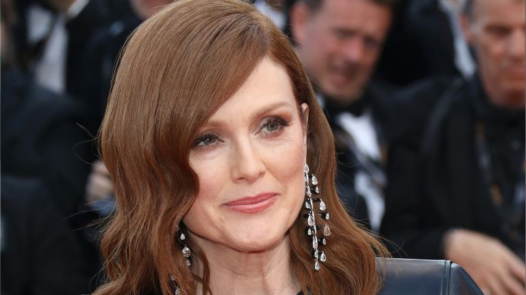 """CANNES, FRANCE - MAY 15: Julianne Moore attends the screening of """"Les Miserables"""" during the 72nd annual Cannes Film Festival on May 15, 2019 in Cannes, France. (Photo by Toni Anne Barson/FilmMagic)"""