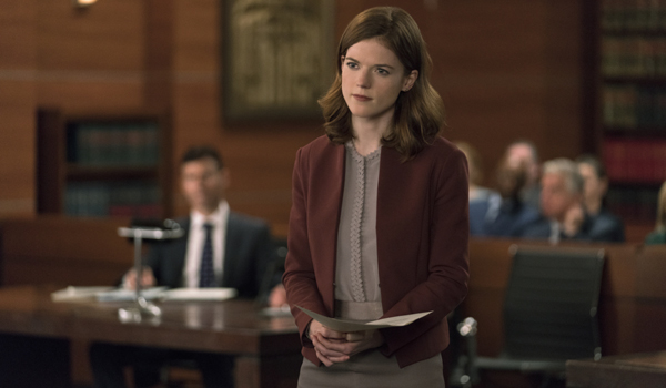 Maia Looking Mad On The Good Fight