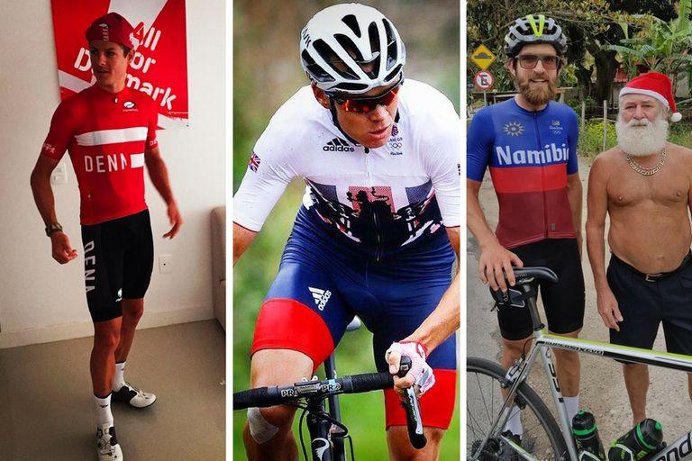 olympic cycling jerseys