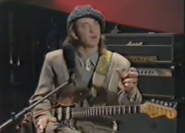 Stevie Ray Vaughan Shows How He Plays 'Rude Mood,' 'Superstition' and 'Hideaway'