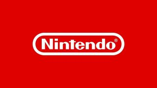 Nintendo logo - white text against its iconic bright red background