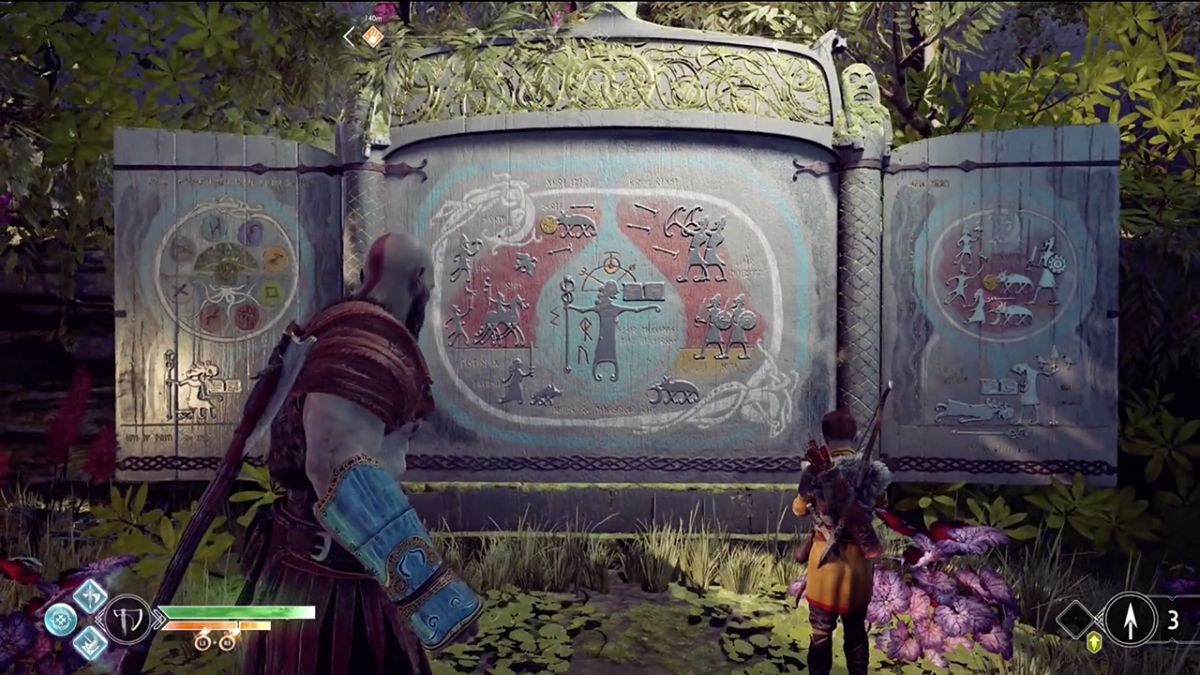 How to find all 11 God of War Jotnar shrines and learn the lore of the giants