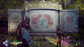 God of War Jotnar shrines