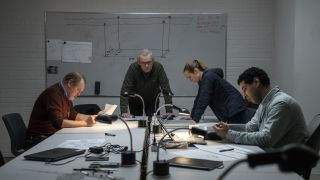 Hans Henrik Clemensen, Soren Malling, Laura Christensen, Dulfi Al-Jabouri in The Investigation