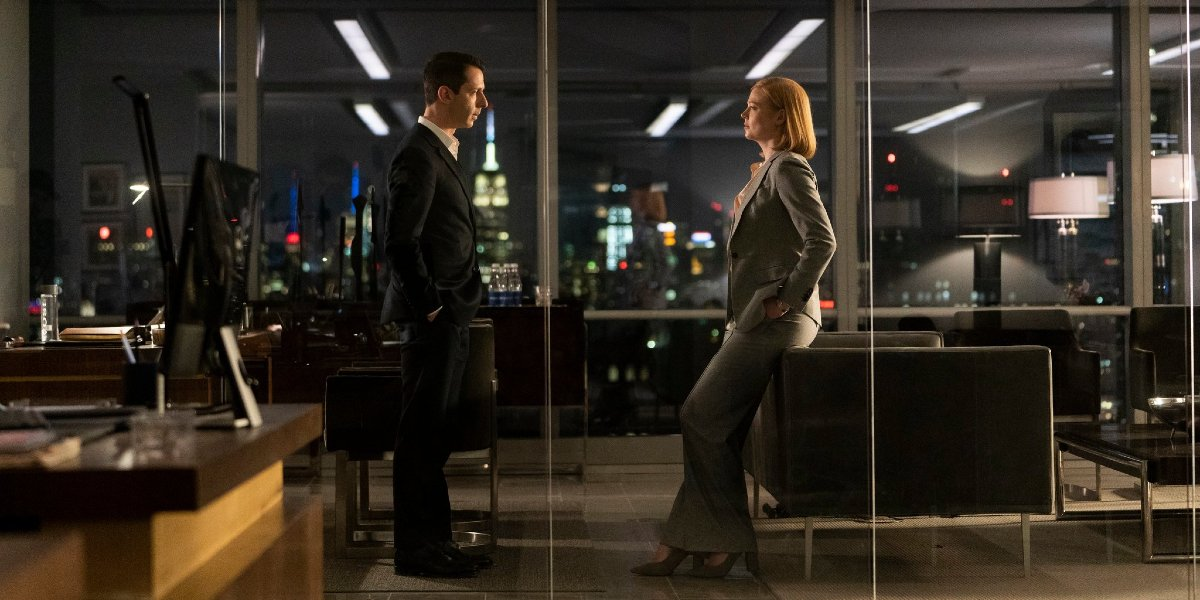 Jeremy Strong and Sarah Snook on Succession