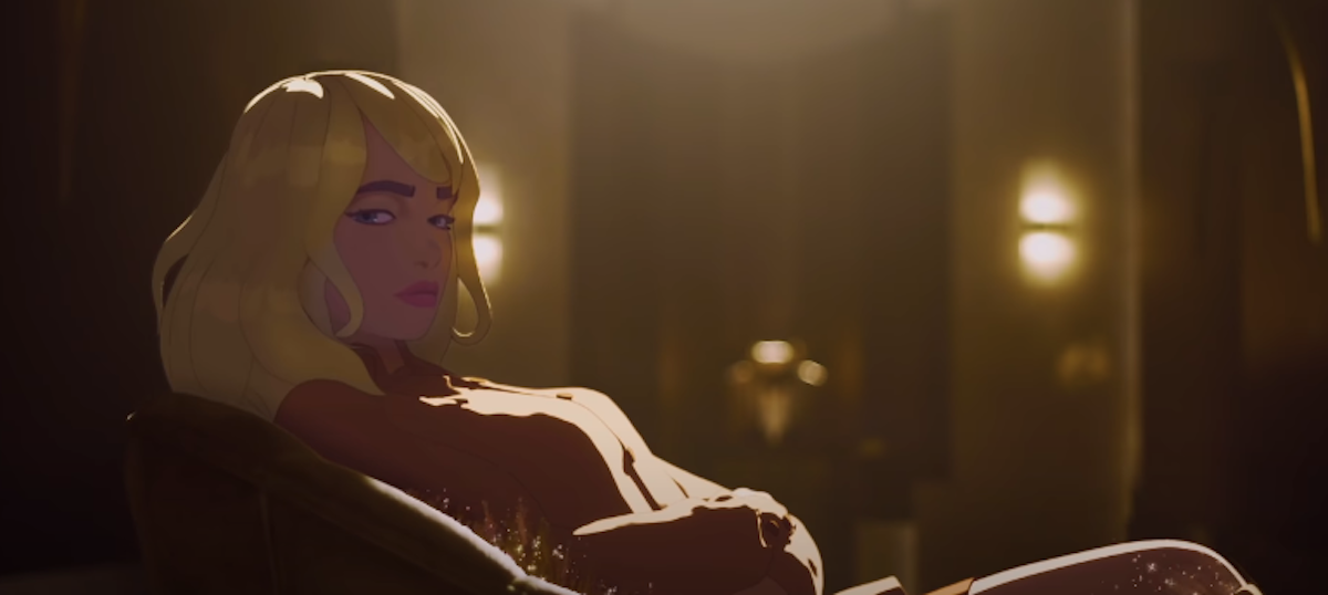 Billie Eilish as animated character, Happier Than Ever: A Love Letter To Los Angeles