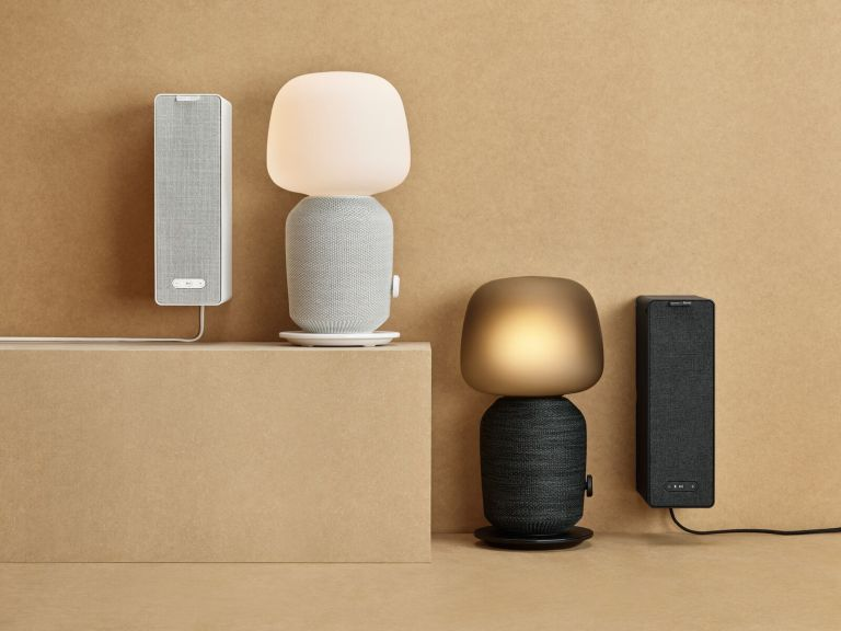 Speaker lamps and speaker shelves: it's Ikea's stylish collaboration with audio experts Sonos | Real Homes