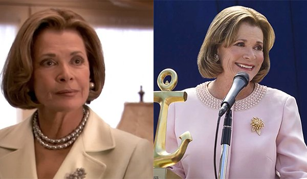 Jessica Walters as Lucille Bluth on Arrested Development