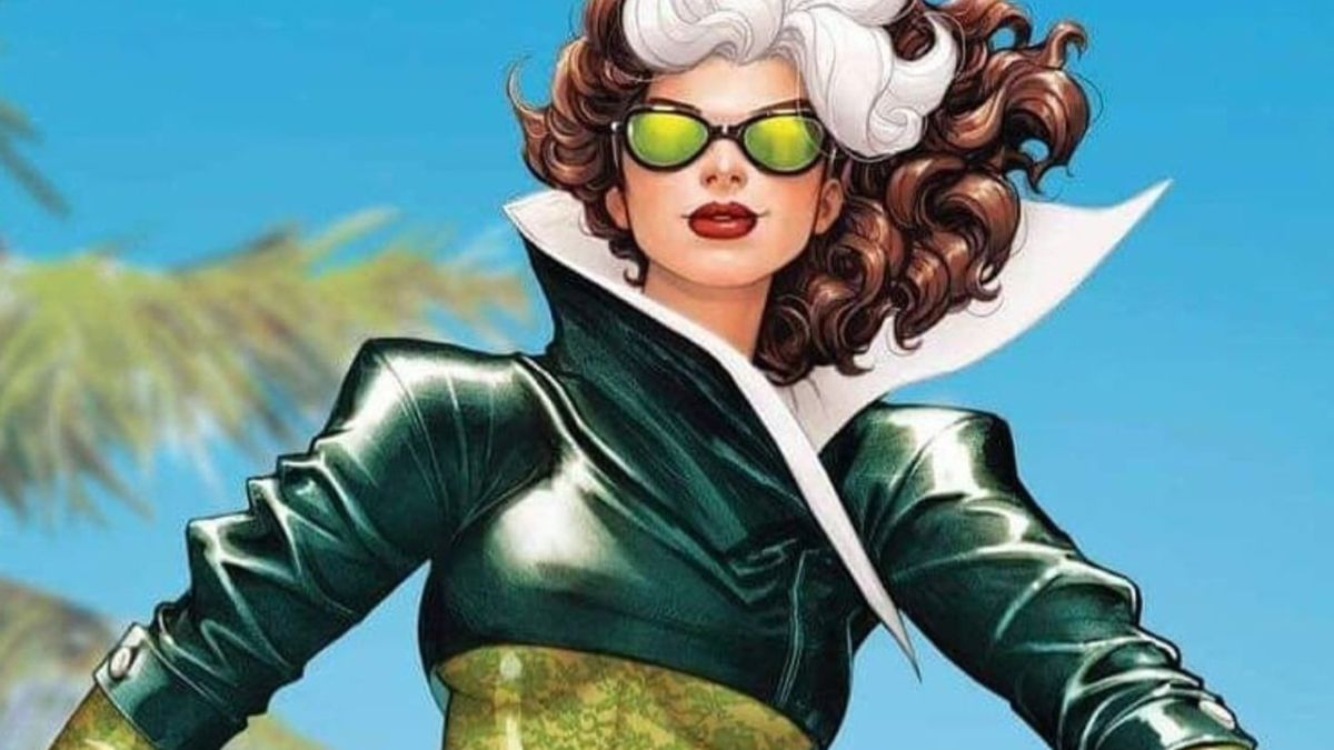Rogue puts a new twist on a classic costume in X-Men #21 variant cover