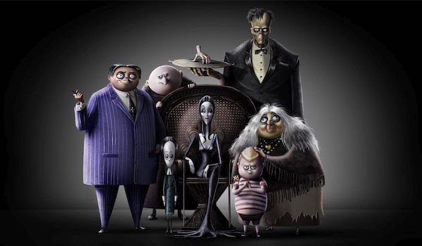 The Addams Family animated cast