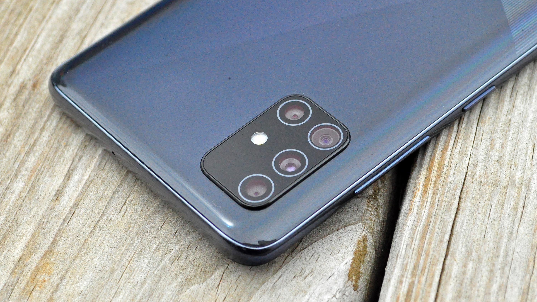 Samsung Galaxy A51 review camera detail