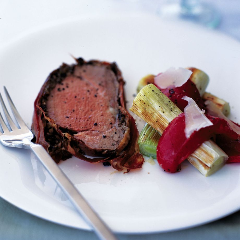 Serrano-Wrapped Beef Fillet Recipe