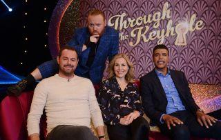 Through the Keyhole shows Danny Dyer, Keith Lemon, Sally Phillips and Chris Kamara