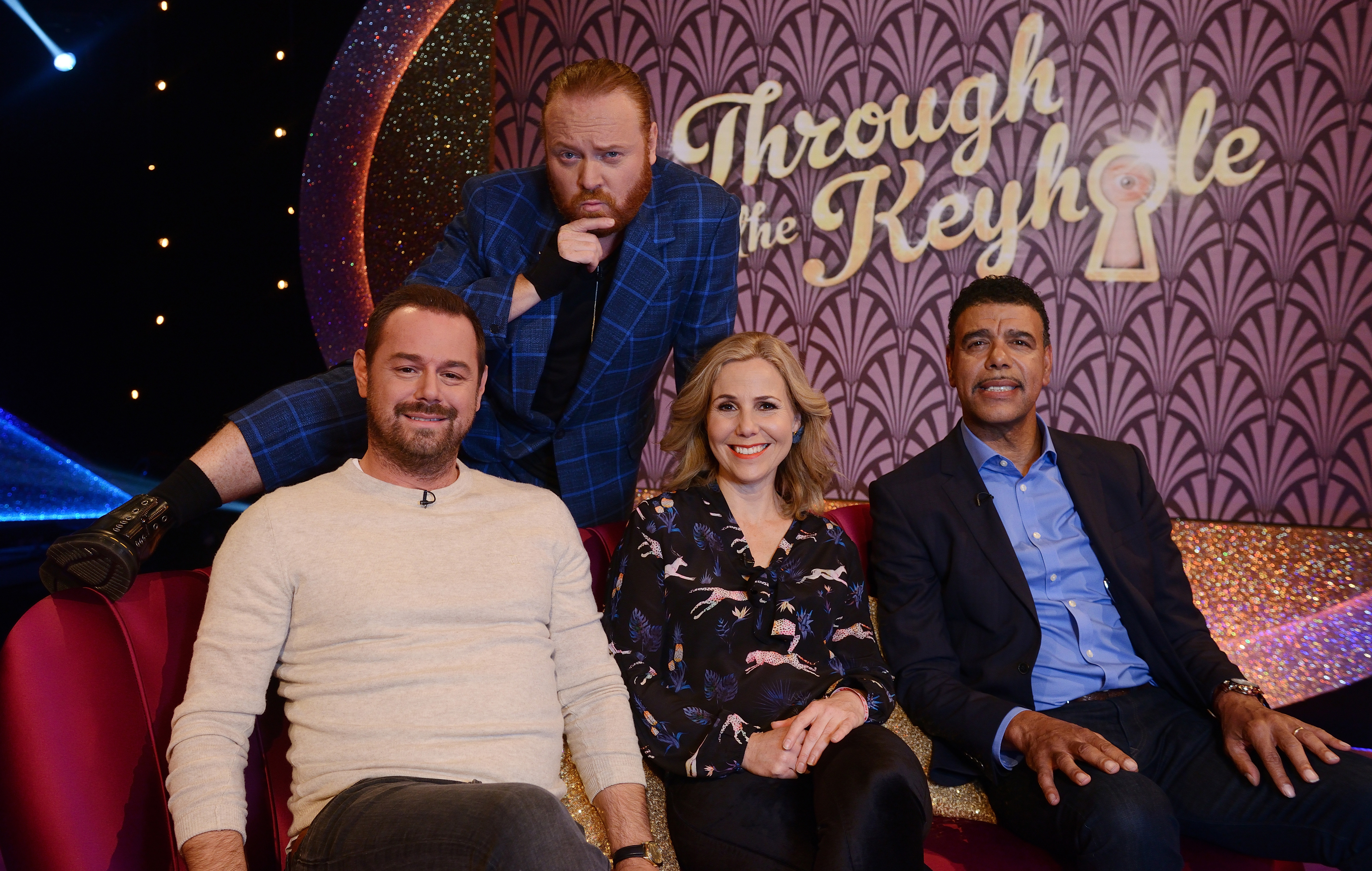 Through the Keyhole shows Danny Dyer, Keith Lemon, Sally Phillips and Chris Kamara