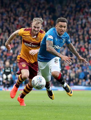 Rangers v Motherwell – Betfred Cup – Semi-Final – Hampden Park