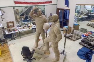 Rocket Mortgage Underwrites New Statue of Apollo 11 Astronauts